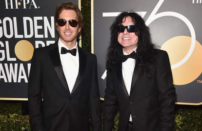 tommy wiseau at the 2018 golden globes