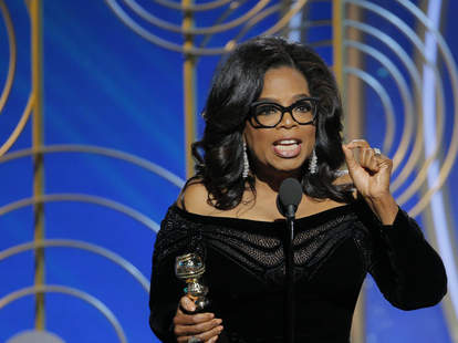 oprah golden globes speech