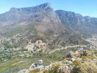 Lion's Head mountain in Cape Town
