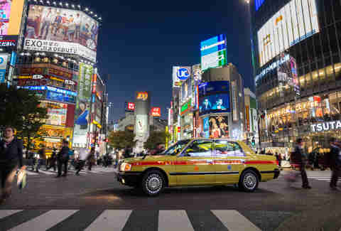 cab in tokyo