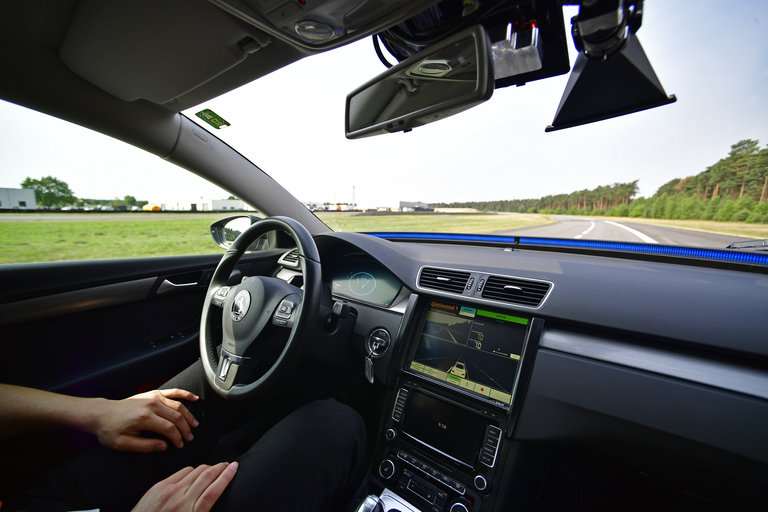 A Hands Free Self Driving System Designed For Motorways During Media Event By Continental To Showcase New Automotive Technologies On June 20 2017 In