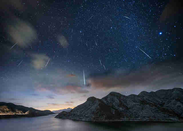 meteor showers 2018