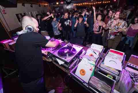 Title Town Soul Funk Dance Parties