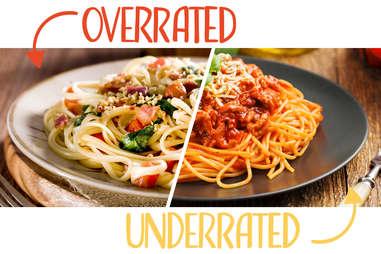 linguine spaghetti
