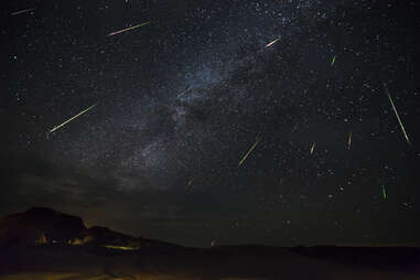 meteor showers 2018