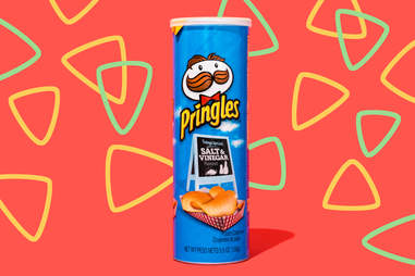 salt and vinegar pringles