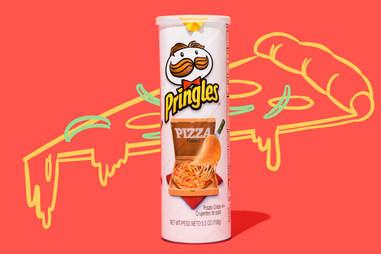 pizza pringles