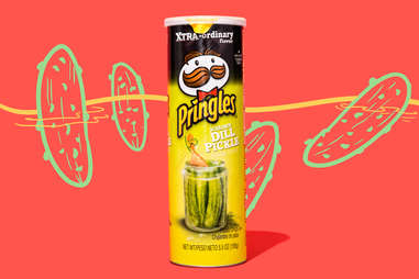 dill pickle pringles