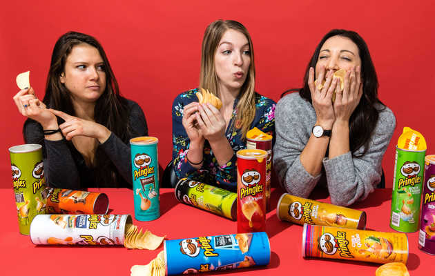 We Ate and Ranked All 34 Pringles Flavors