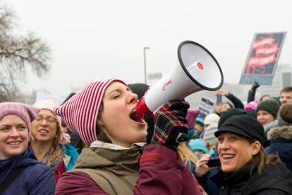vegas women's rally