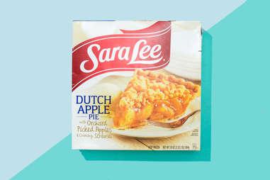 vegan Sara Lee/Marie Callender's frozen pie