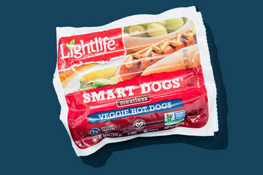 lightlife smart dogs meatless veggie hot dog vegetarian