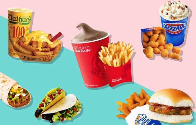 The Best Vegetarian Meal at 24 Fast-Food Chains