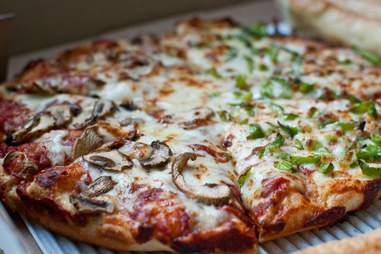 Pizza at Abbot's Pizza Company