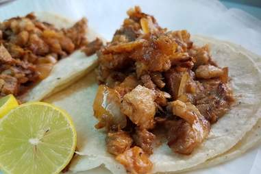 La Isla Bonita taco truck in L.A.