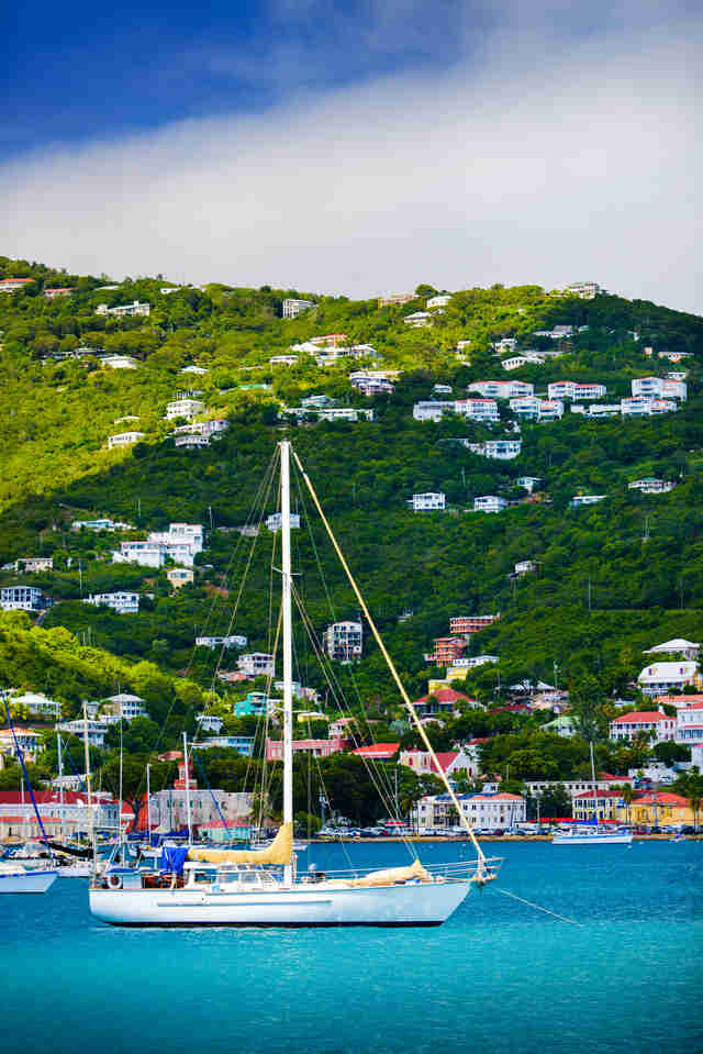 the st thomas harbor