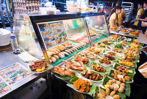 Street food in Singapore