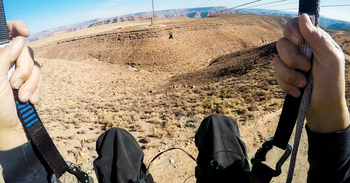 This Insane New Zip Line Lets You Soar Above the Grand Canyon at 45MPH