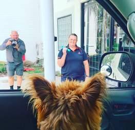 Rusty returns to Queensland, Australia