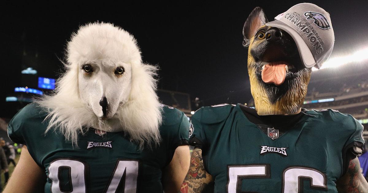 brand new c09d5 24f4b Why Do Eagles Fans Wear Dog Masks? - Thrillist