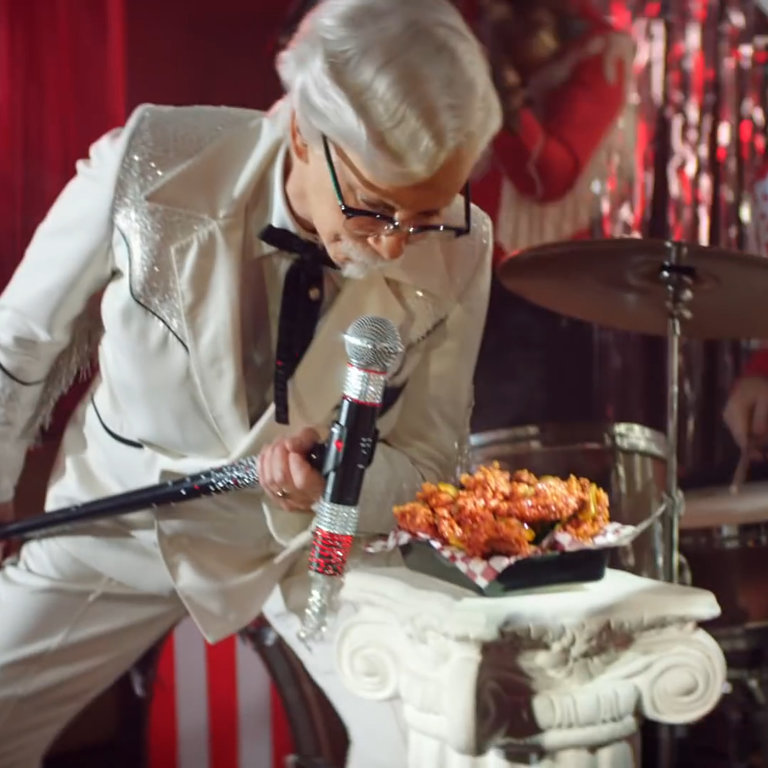 11a33145f95d6 KFC Has A New Colonel Sanders  Reba McEntire - NowThis
