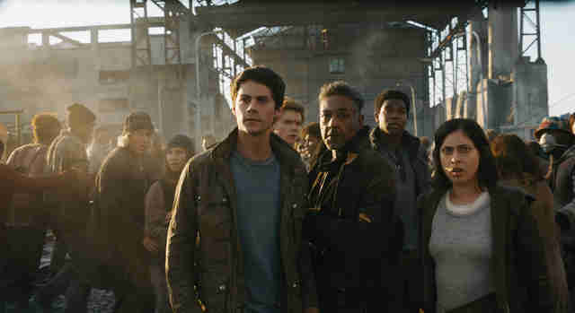 maze runner: the death cure ending