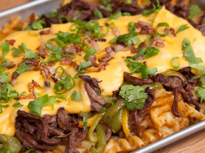 Waffle Philly Cheese Steak