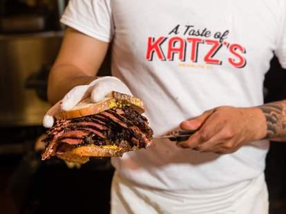 Katz's pastrami