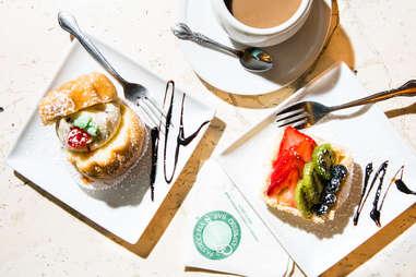 pastries from Ferrara Bakery in New York