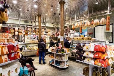 interior of Di Palo's Fine Foods