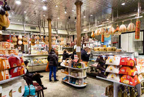 interior of Di Palo's Fine Foods