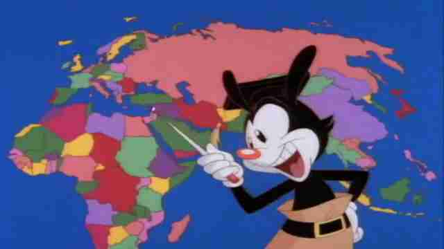 animaniacs yakko's world