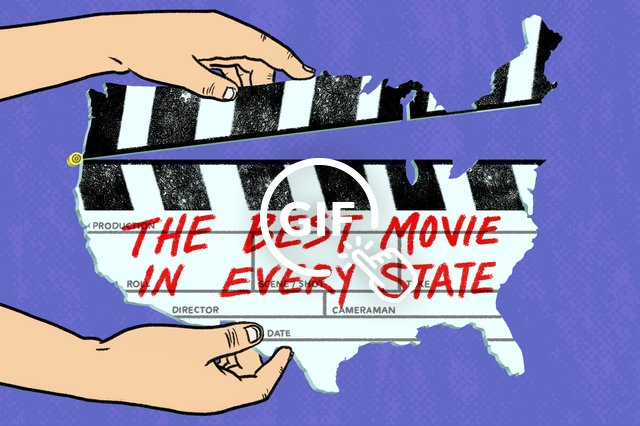 best movie in every state