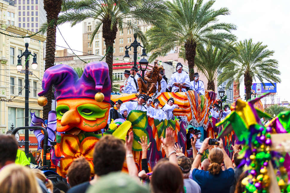 new orleans mardi gras 2018 parade schedule routes hotels more