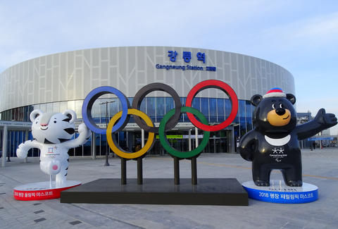 olympic rings pyeongchang