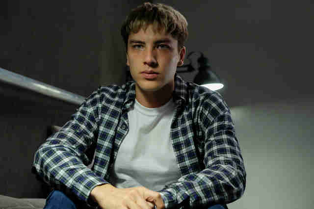 cody fern as david madson