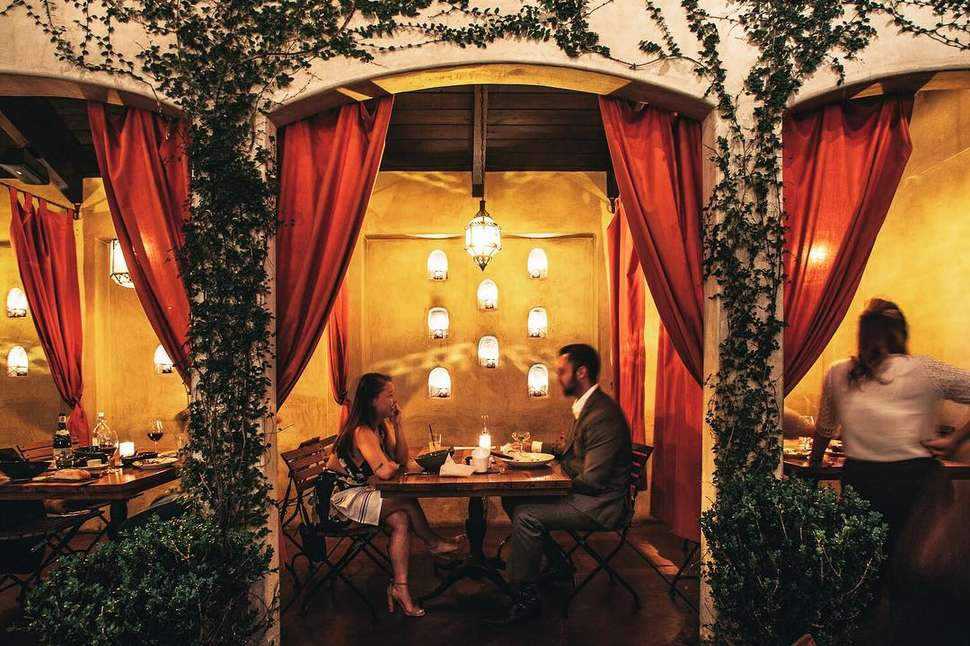 Great dating restaurants on west side la
