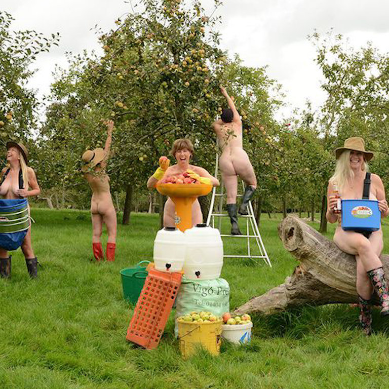 These Women Made a Naked Calendar to Promote Body ...