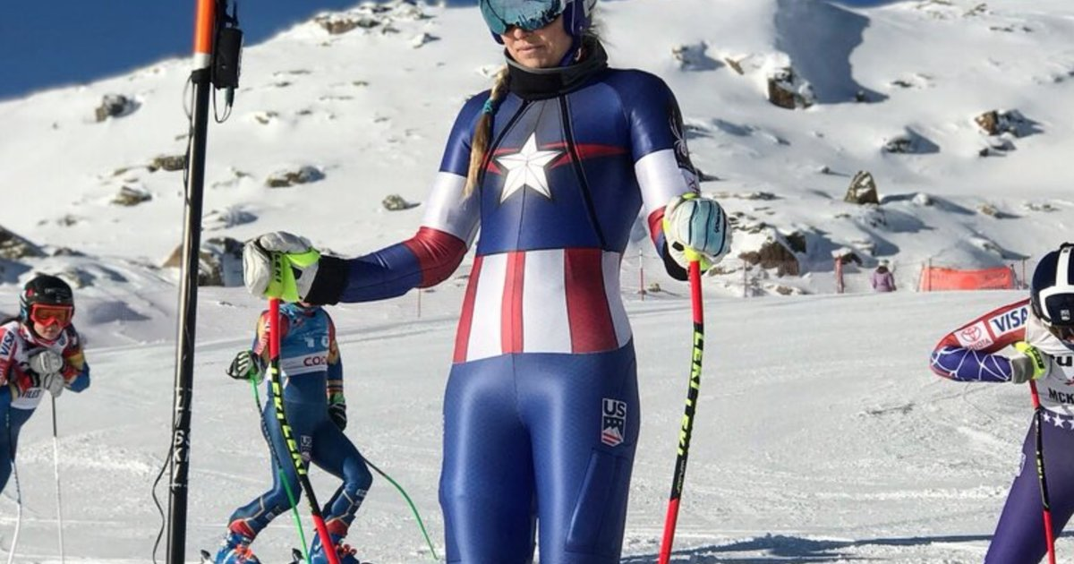The US Olympic Ski Team Is Competing in Superhero Suits