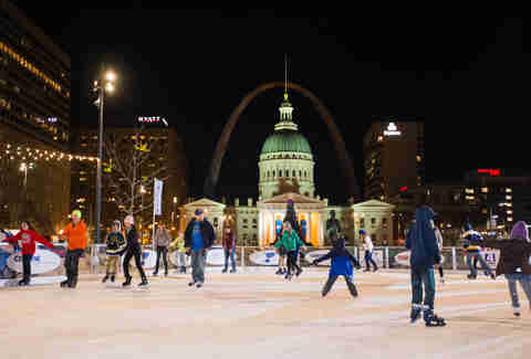 Gateway Arch Grounds