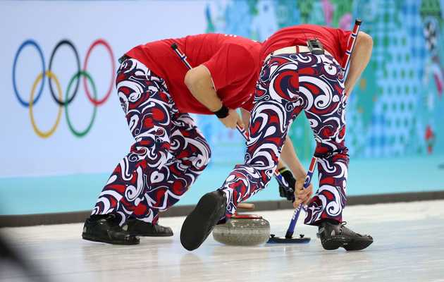 This Olympic Curling Team Is Back to Win Gold With Their Extremely Fancy Pants