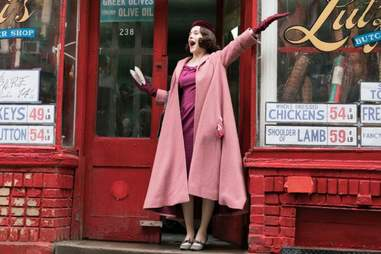rachel brosnahan, the marvelous mrs. maisel, amazon