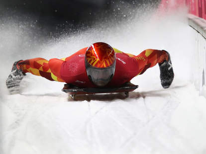 difference between luge skeleton bobsled
