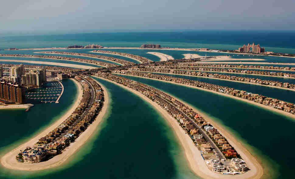 Palm Jumeirah, Palm Island, Dubai