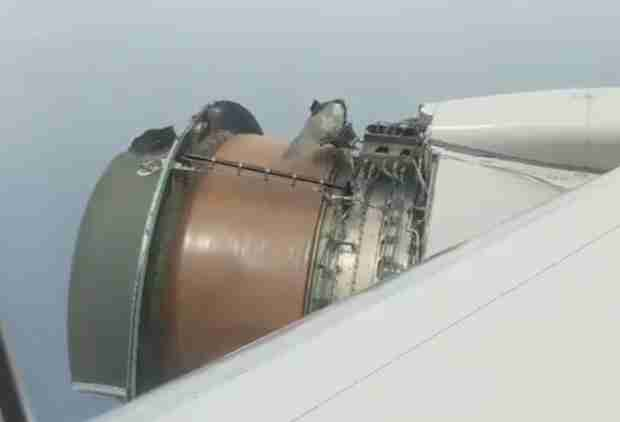 Video Shows the Terrifying Moments After a Plane Lost Its Engine Cover Mid-Flight