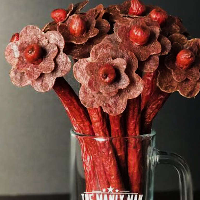 Jerky Bouquets Are The Perfect Valentine\'s Day Treat - NowThis