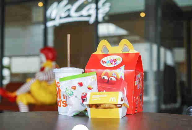 McDonald's Is Taking Cheeseburgers Off the Happy Meal Menu