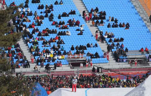 What's Up With All the Empty Seats at the Olympics?