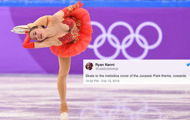 Figure Skating Is Way Funnier With These Songs Chosen by Twitter