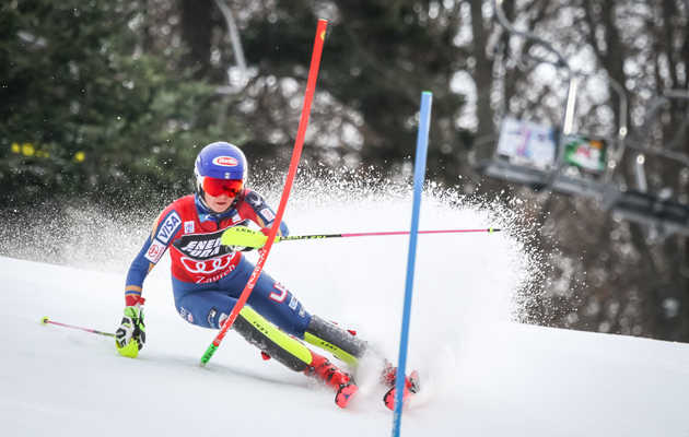 Here's Why Olympic Skiers Hit Those Gates on Their Way Downhill